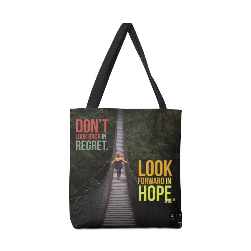 Don't Look Back Accessories Bag by 412teens' Merch Shop