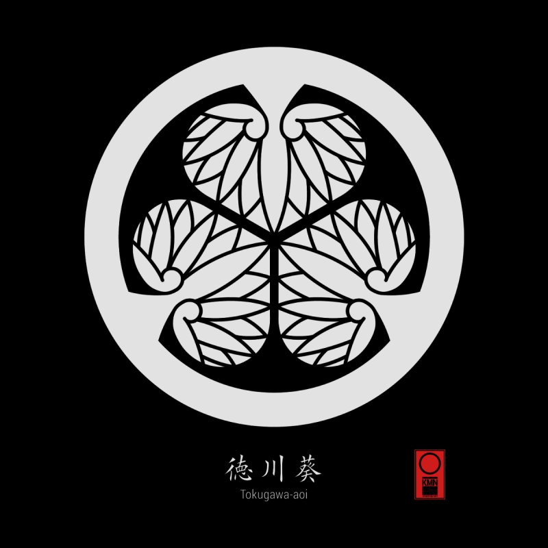 Tokugawa Aoi   KAMON [ Japanese Family Crest ] by 504d's Artist Shop