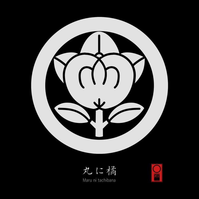 Maru ni tachibana   KAMON [ Japanese Family Crest ] by 504d's Artist Shop