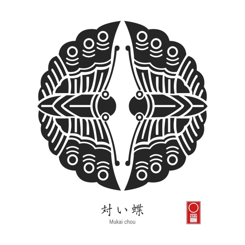 Mukai Chou Kamon Japanese Family Crest 504ds Artist Shop