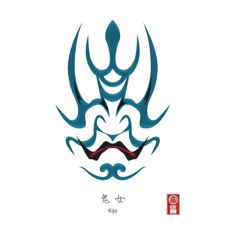 Kijo | Kumadori [ Makeup of Kabuki ] by 504d's Artist Shop