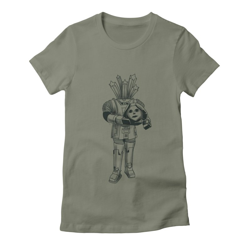 Bdbd Women's Fitted T-Shirt by 51brano's Artist Shop