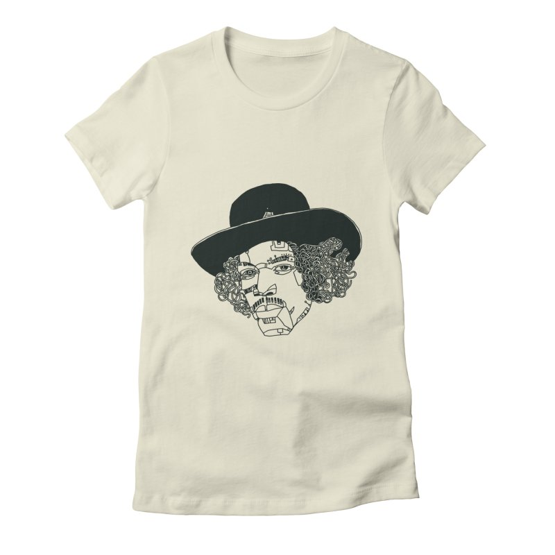 Jimi Women's Fitted T-Shirt by 51brano's Artist Shop