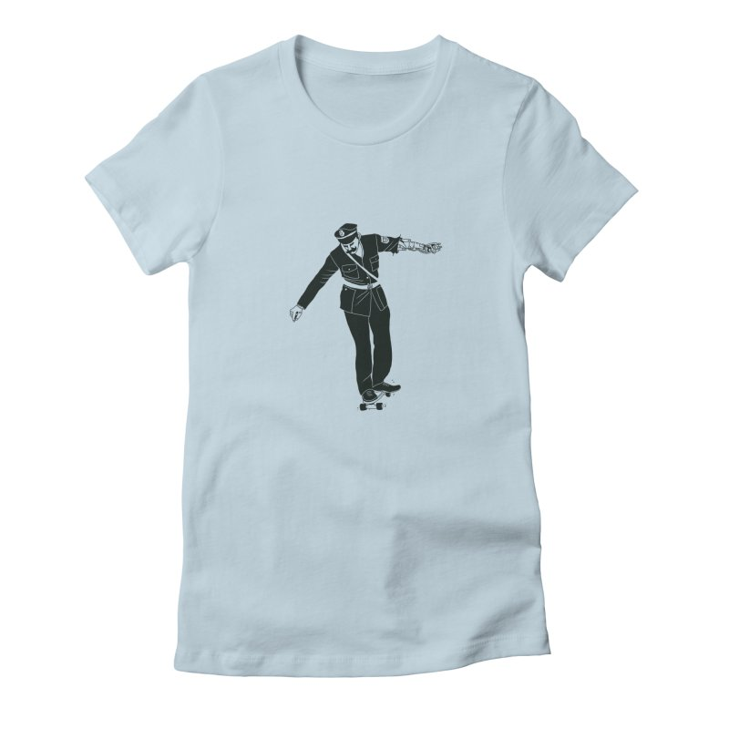 Copskates Women's T-Shirt by 51brano's Artist Shop