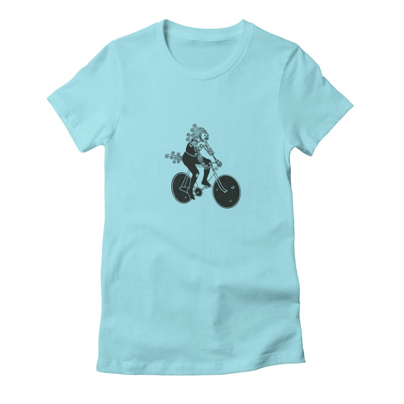 Fixed Women's Fitted T-Shirt by 51brano's Artist Shop