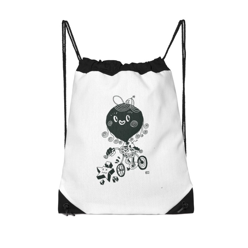 Killyouridol Accessories Drawstring Bag Bag by 51brano's Artist Shop