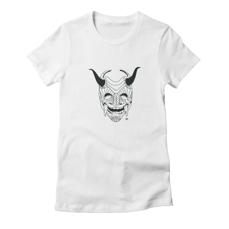 Hahaha Women's Fitted T-Shirt by 51brano's Artist Shop