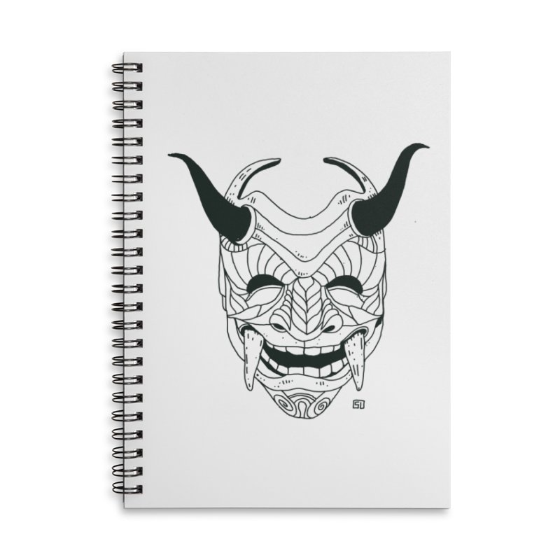 Hahaha Accessories Lined Spiral Notebook by 51brano's Artist Shop