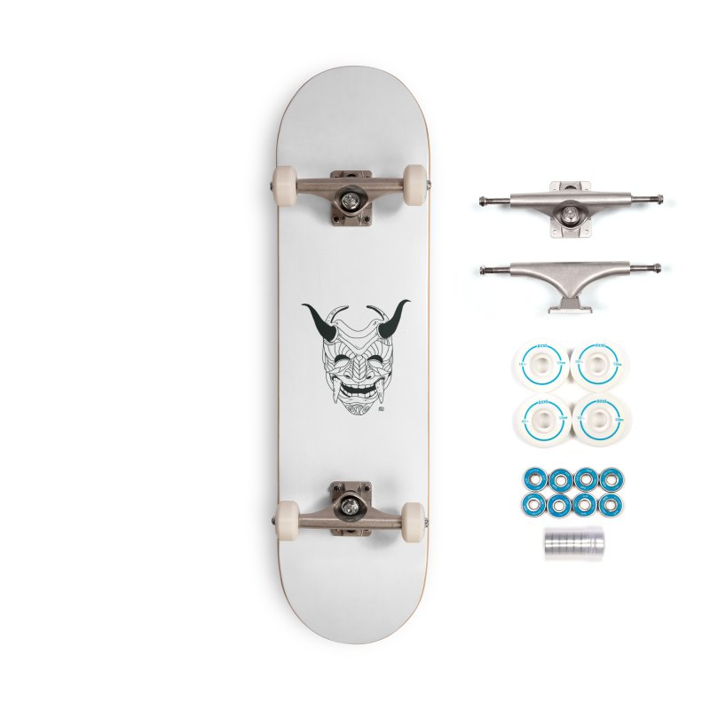 Hahaha Accessories Complete - Basic Skateboard by 51brano's Artist Shop