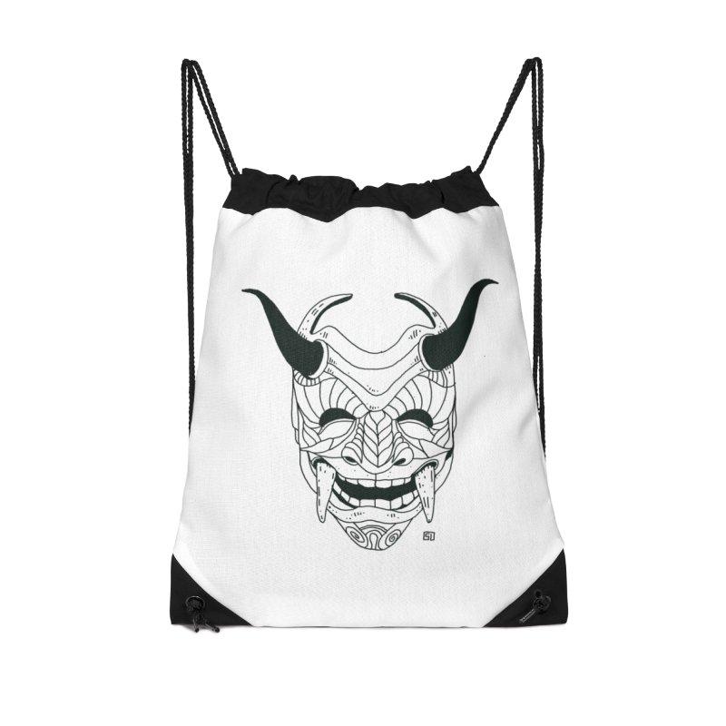 Hahaha Accessories Drawstring Bag Bag by 51brano's Artist Shop