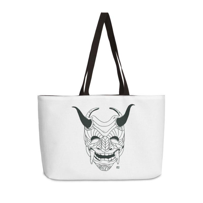 Hahaha Accessories Weekender Bag Bag by 51brano's Artist Shop