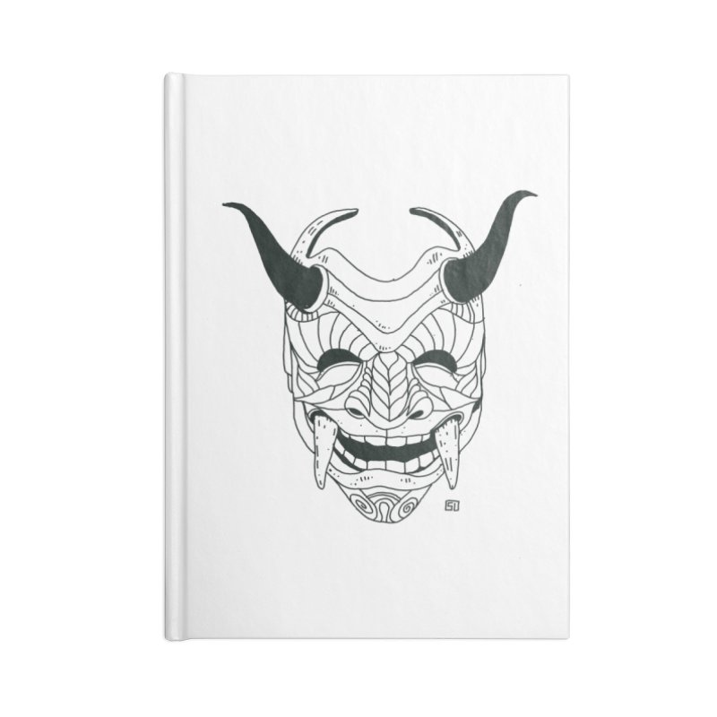 Hahaha Accessories Lined Journal Notebook by 51brano's Artist Shop