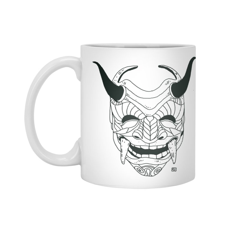 Hahaha Accessories Standard Mug by 51brano's Artist Shop