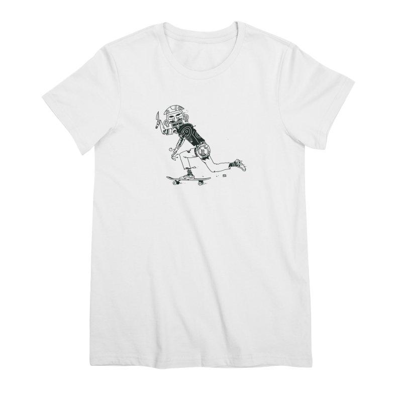 Wakanowaka Women's Premium T-Shirt by 51brano's Artist Shop