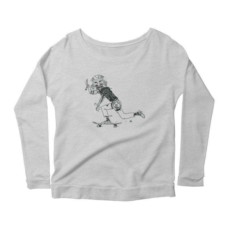 Wakanowaka Women's Scoop Neck Longsleeve T-Shirt by 51brano's Artist Shop