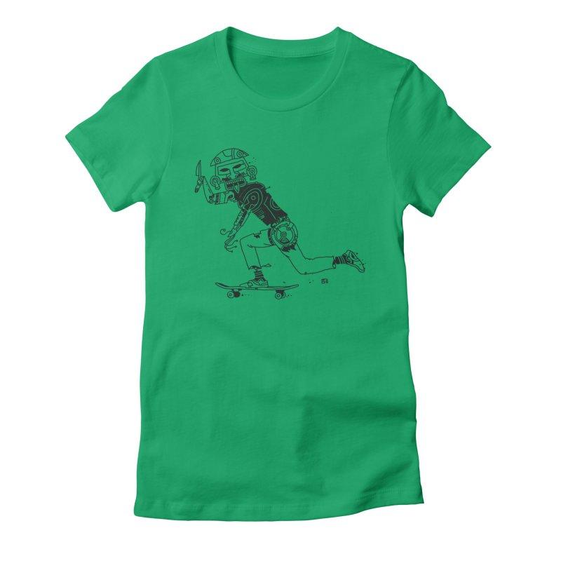 Wakanowaka Women's Fitted T-Shirt by 51brano's Artist Shop