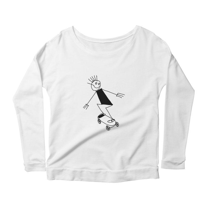 Childsplay Women's Scoop Neck Longsleeve T-Shirt by 51brano's Artist Shop
