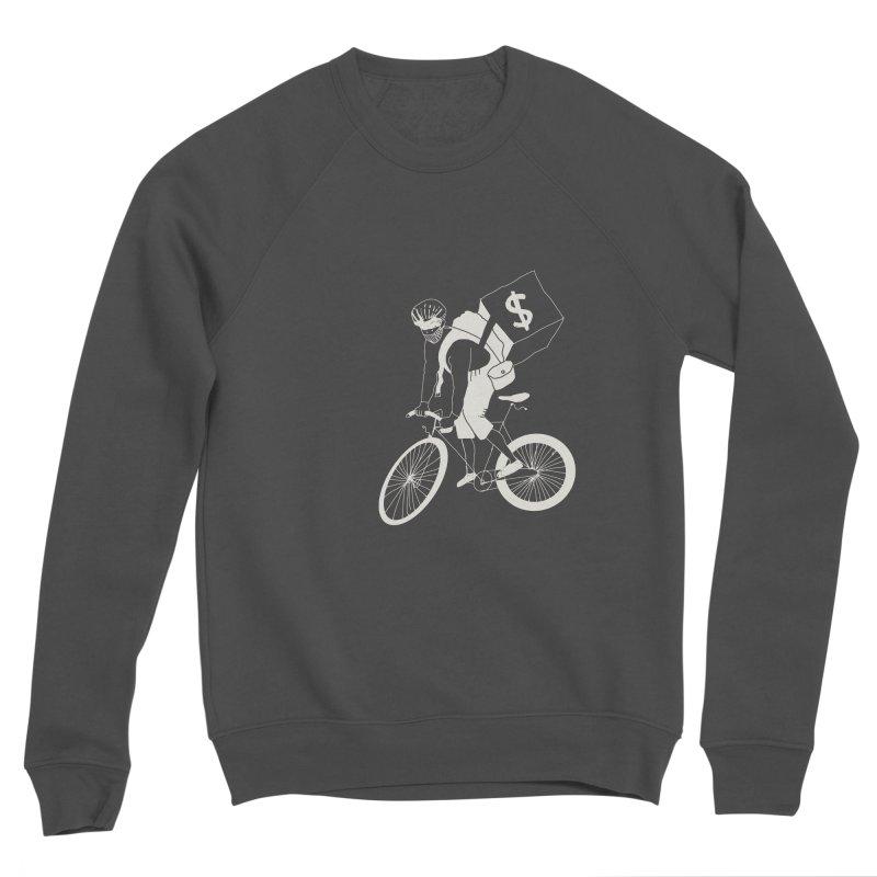 Courier Men's Sponge Fleece Sweatshirt by 51brano's Artist Shop