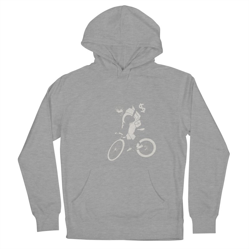 Courier Women's French Terry Pullover Hoody by 51brano's Artist Shop