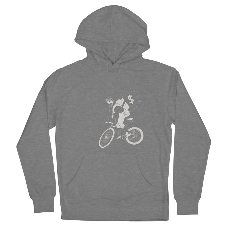 Courier Men's French Terry Pullover Hoody by 51brano's Artist Shop