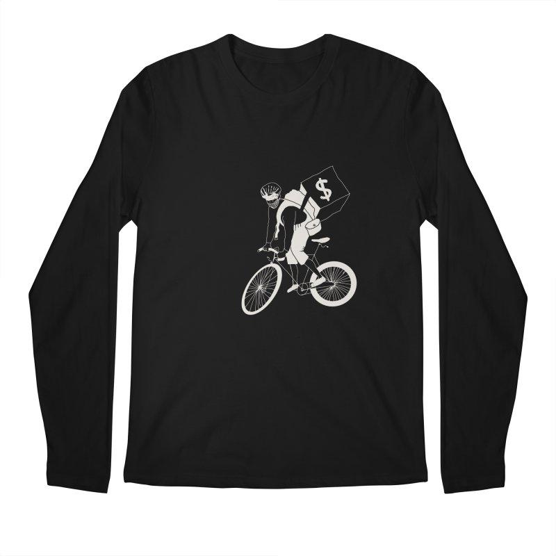 Courier Men's Regular Longsleeve T-Shirt by 51brano's Artist Shop