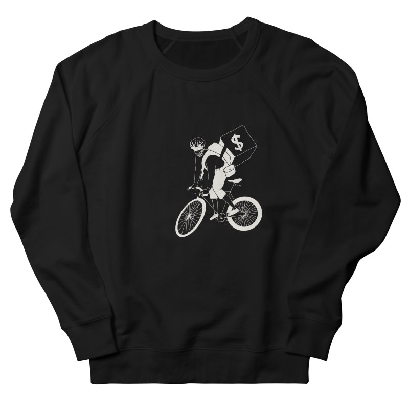 Courier Women's French Terry Sweatshirt by 51brano's Artist Shop