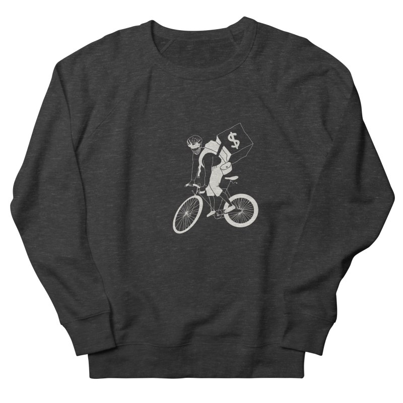 Courier Men's French Terry Sweatshirt by 51brano's Artist Shop