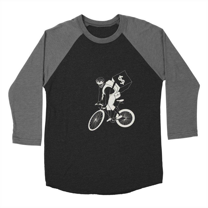Courier Women's Baseball Triblend Longsleeve T-Shirt by 51brano's Artist Shop