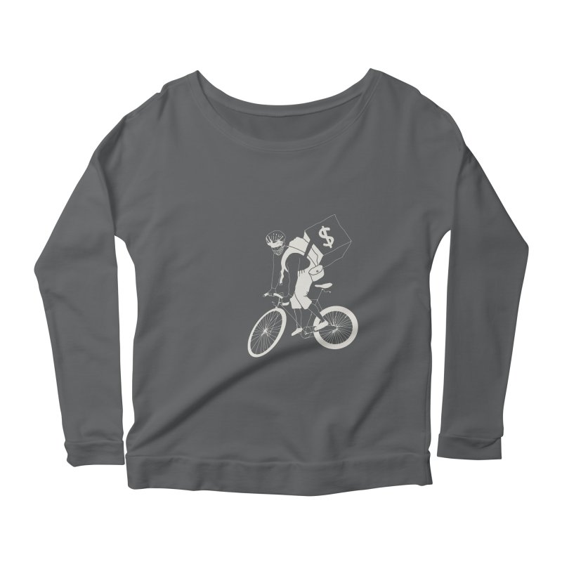 Courier Women's Scoop Neck Longsleeve T-Shirt by 51brano's Artist Shop