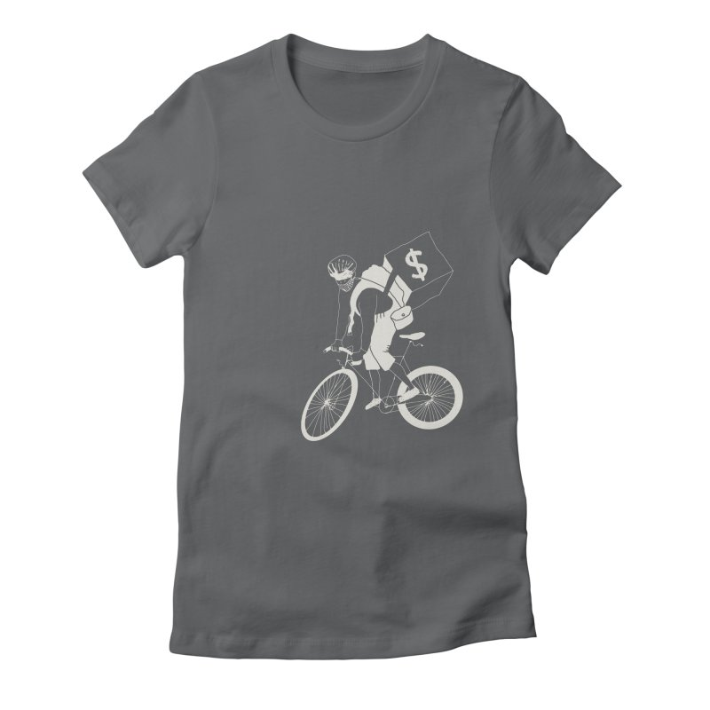 Courier Women's Fitted T-Shirt by 51brano's Artist Shop