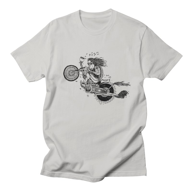 Rides in Men's Regular T-Shirt Stone by 51brano's Artist Shop