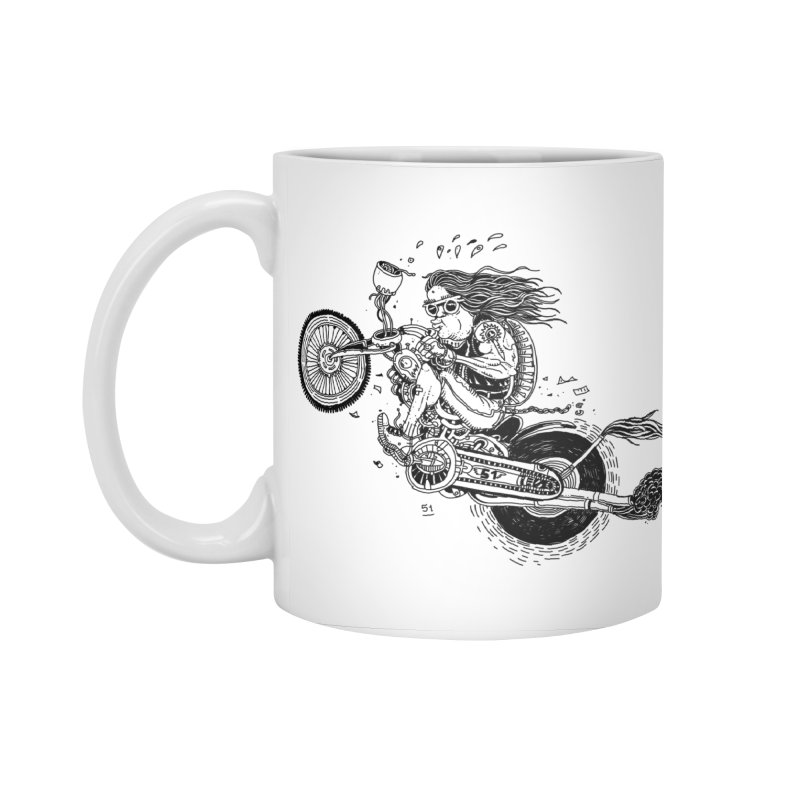 Rides Accessories Standard Mug by 51brano's Artist Shop
