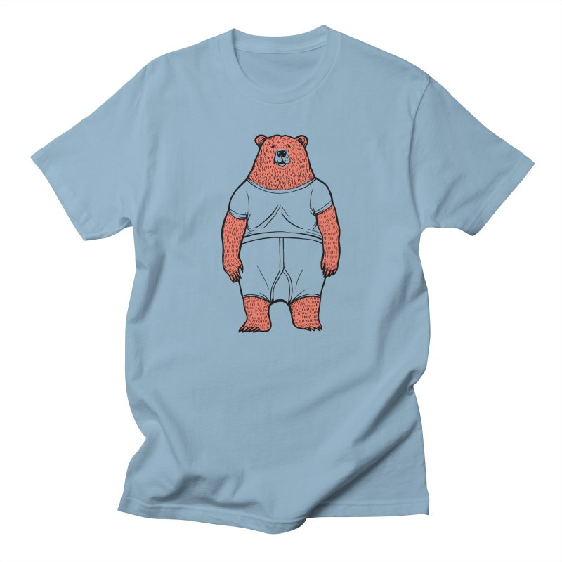 Bearwhyfront Men's T-Shirt by 51brano's Artist Shop