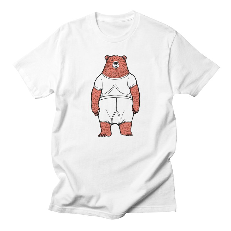Bearwhyfront Men's Regular T-Shirt by 51brano's Artist Shop
