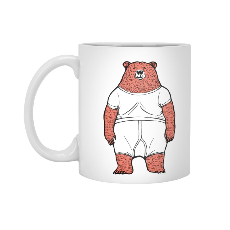 Bearwhyfront Accessories Mug by 51brano's Artist Shop