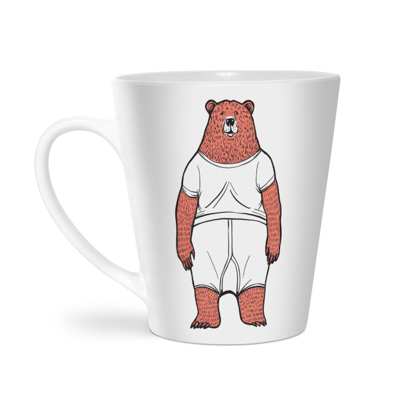 Bearwhyfront Accessories Latte Mug by 51brano's Artist Shop