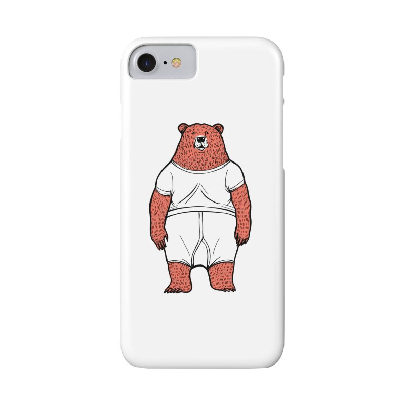 Bearwhyfront Accessories Phone Case by 51brano's Artist Shop