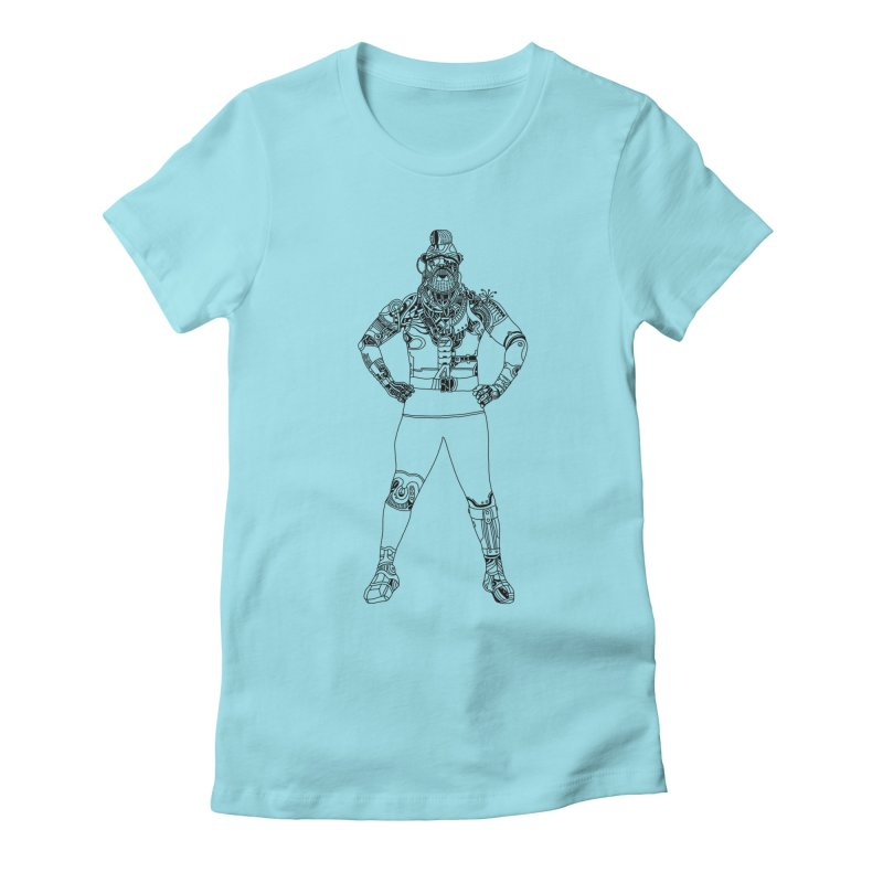 Tee Women's Fitted T-Shirt by 51brano's Artist Shop