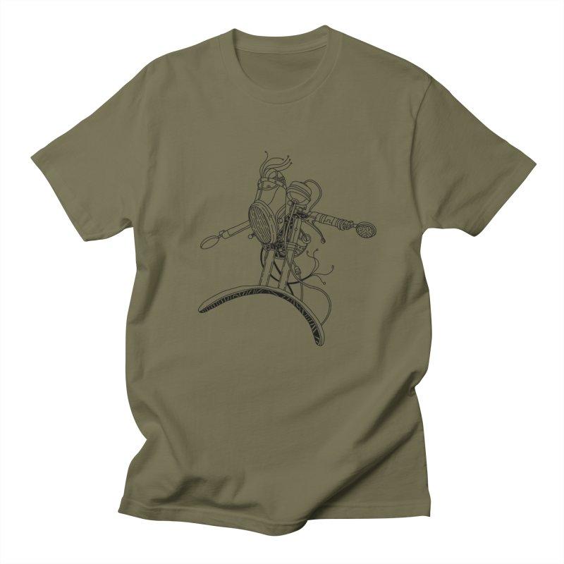 Surfblck Men's T-Shirt by 51brano's Artist Shop