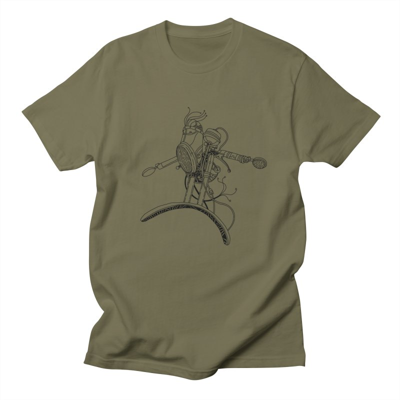 Surfblck Men's Regular T-Shirt by 51brano's Artist Shop