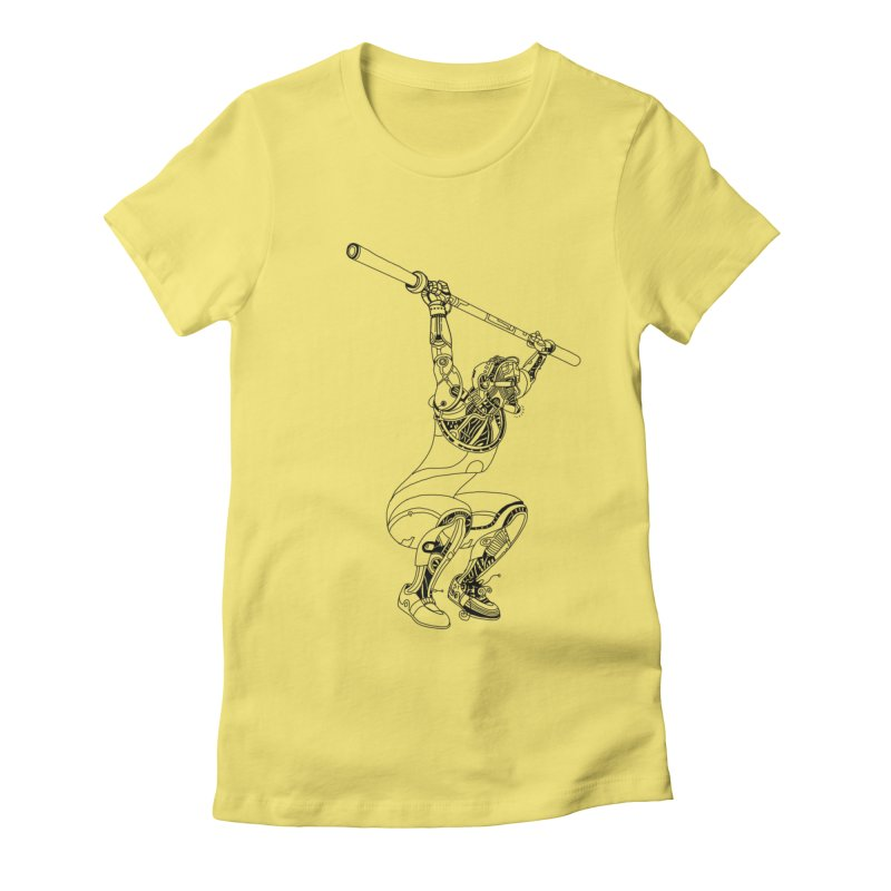 Lift Women's Fitted T-Shirt by 51brano's Artist Shop