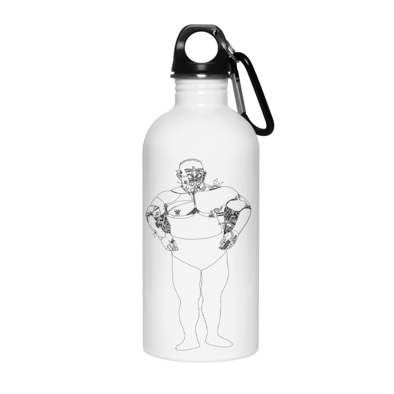 Strongman Accessories Water Bottle by 51brano's Artist Shop