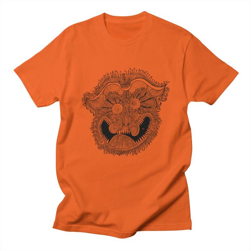 Mask blcklines Women's T-Shirt by 51brano's Artist Shop