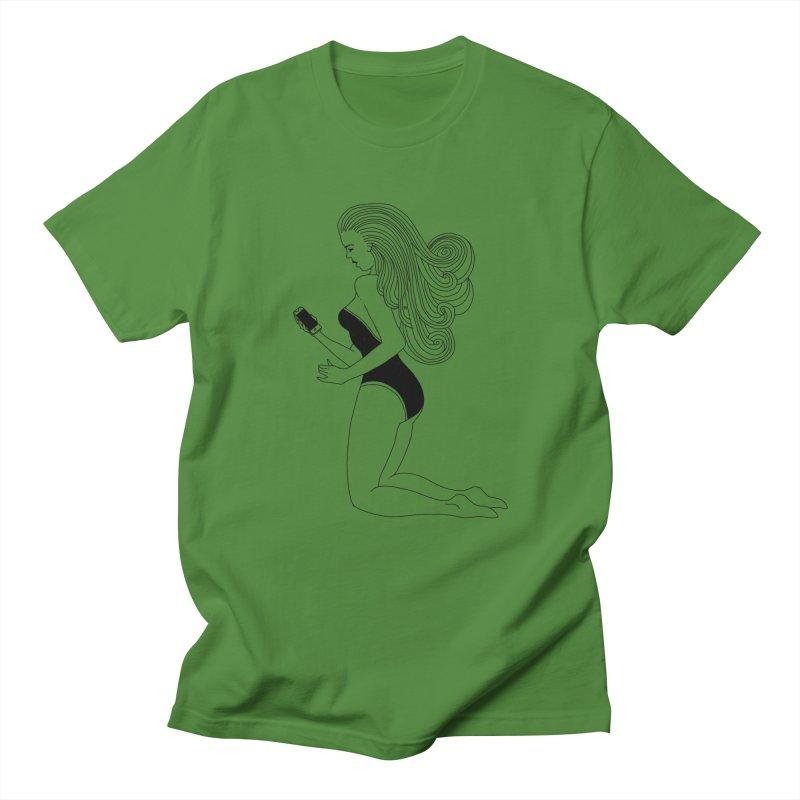 Vintage scrolling Women's Regular Unisex T-Shirt by 51brano's Artist Shop