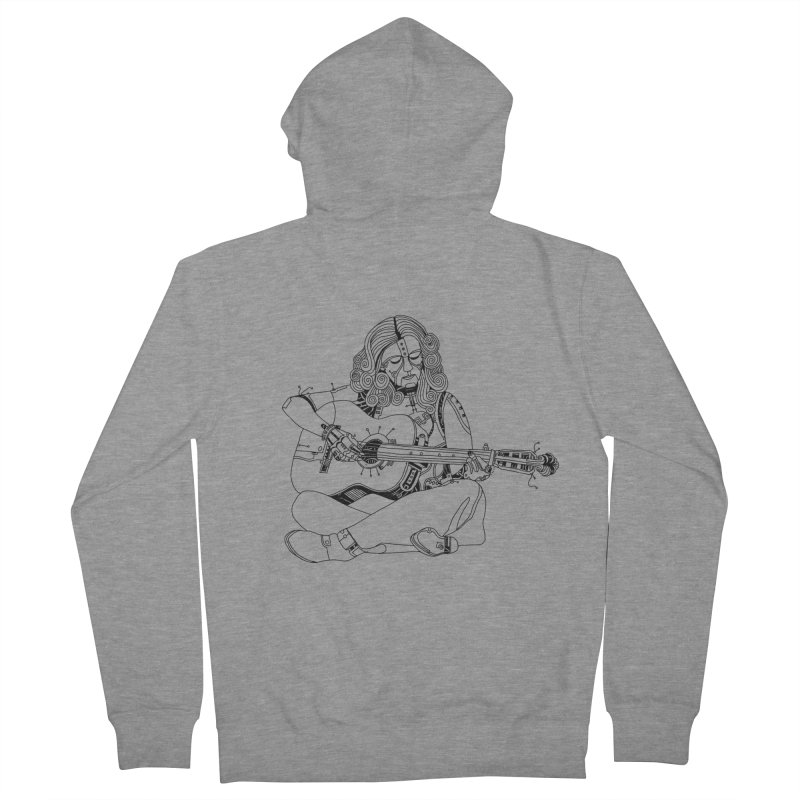 Just sittin here playin Men's Zip-Up Hoody by 51brano's Artist Shop