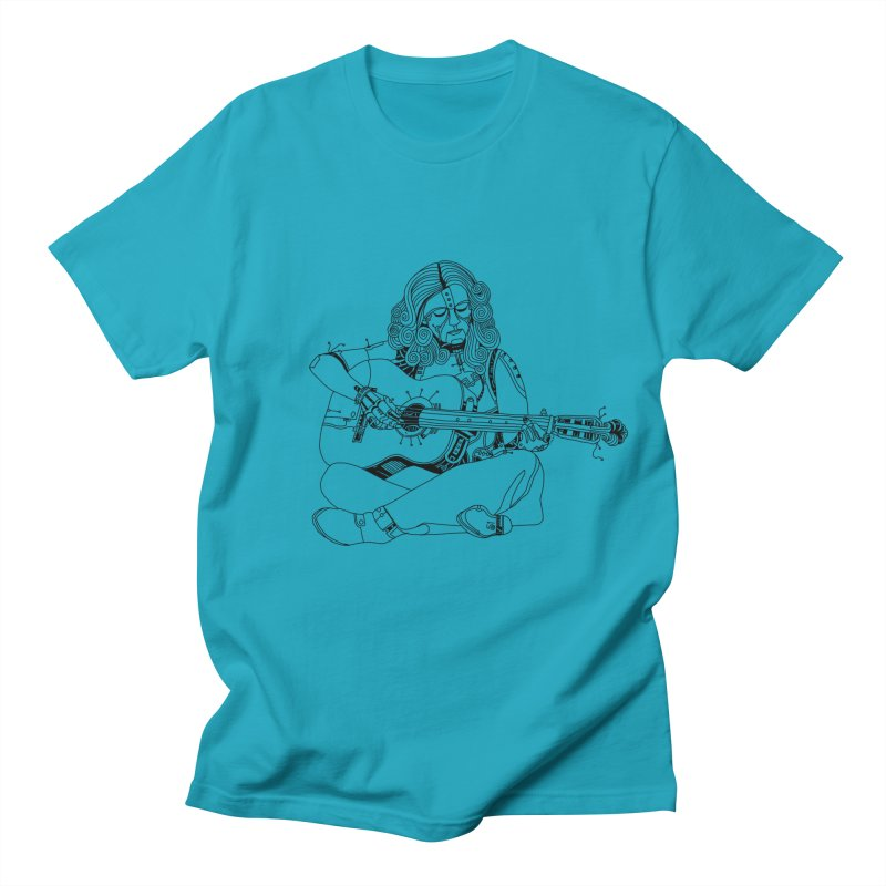 Just sittin here playin Women's Regular Unisex T-Shirt by 51brano's Artist Shop
