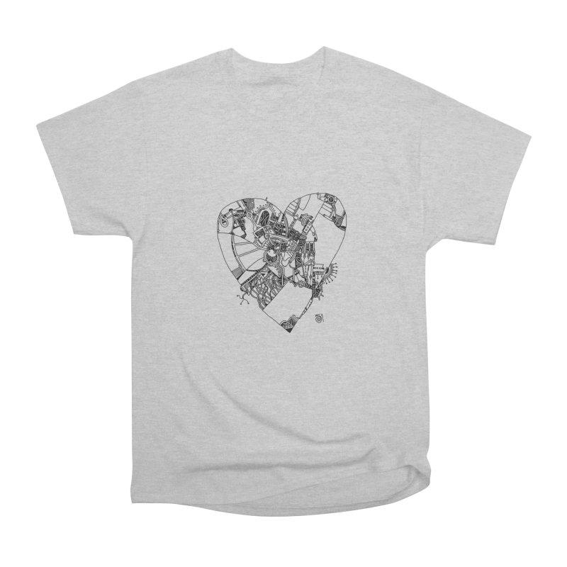 Love in progress Women's Heavyweight Unisex T-Shirt by 51brano's Artist Shop