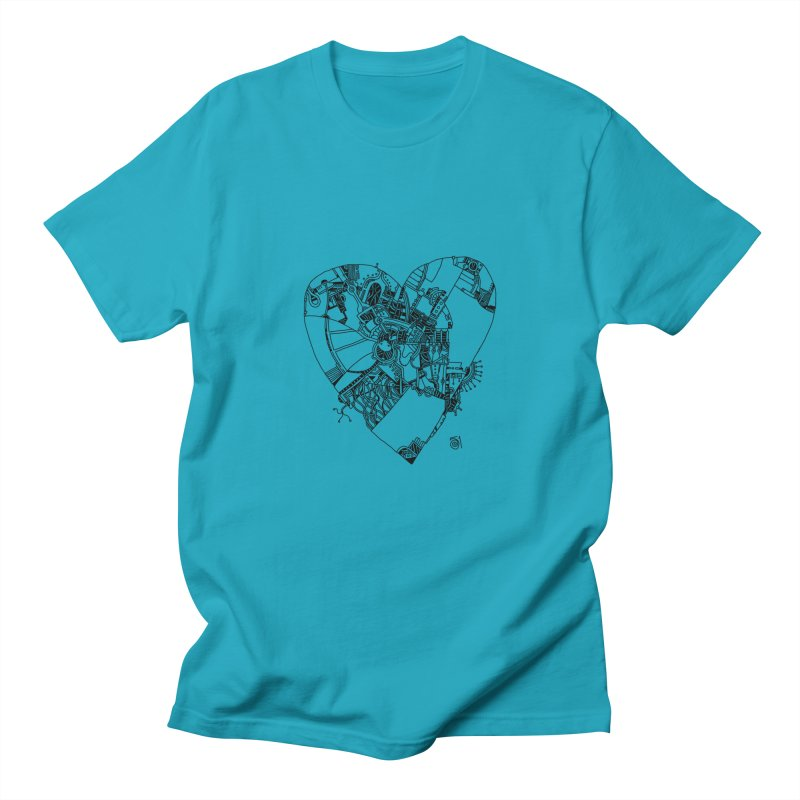Love in progress Men's T-Shirt by 51brano's Artist Shop