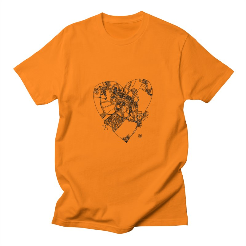Love in progress Men's Regular T-Shirt by 51brano's Artist Shop