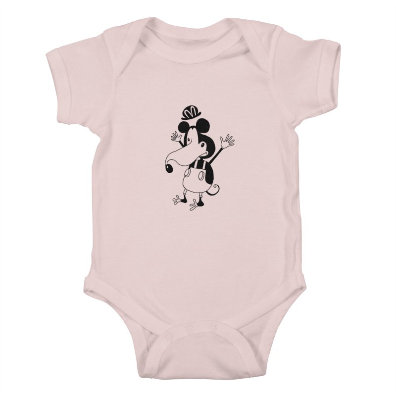 Mariomous Kids Baby Bodysuit by 51brano's Artist Shop